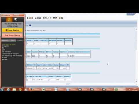SAP Training : SAP HCM PCR(Personnel Calculation Rule) Training Demo