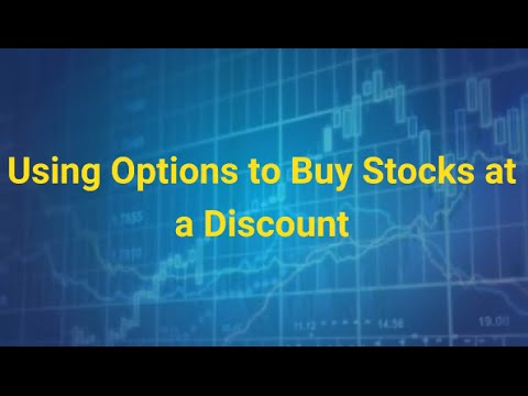 Using Options to Buy Stocks Cheaper