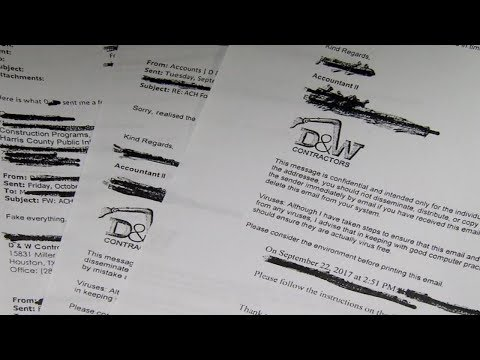 Email scam almost costs Harris County $1 million