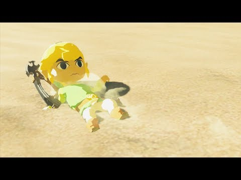 Toon Link gets Kicked out of Gerudo Town - Zelda Breath of the Wild