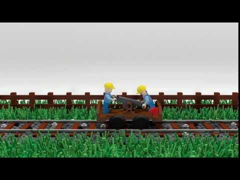 A small Lego animation video