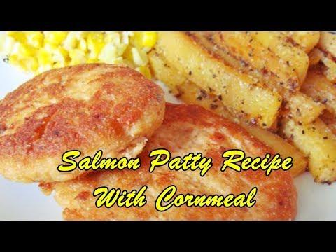 Salmon Patty Recipe With Cornmeal