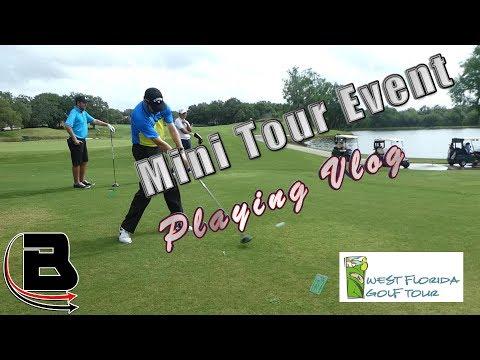 Mini Tour Playing Vlog HOLES 1-6 (Round 2)
