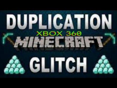 Minecraft Diamond Duplicator Glitch Tutorial for Xbox 360