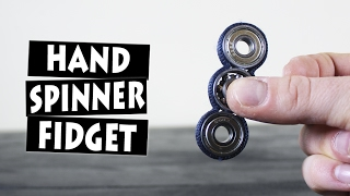 Download DIY Paracord Hand Spinner Fidget Toy Video