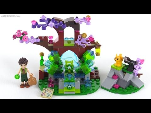 LEGO Elves - Farran & the Crystal Hollow reviewed! set 41076