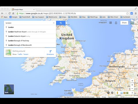 Deleting New Google Maps Search And Information Boxes