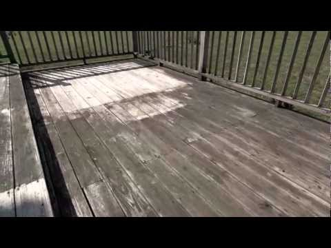 Easy Prep for Staining Wood:  How to Use Cleaner/Brightener