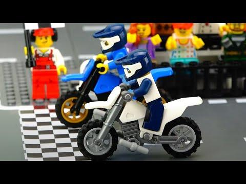 Motorbike Race Cartoon For Kids.