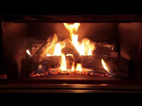 Gas Fireplace Closeup - Meta Fake Fire
