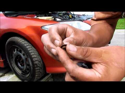 04 Mazda 6 front bumper removal