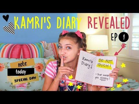 Kimmy Reads Kamri's Diary | Kamri Noel