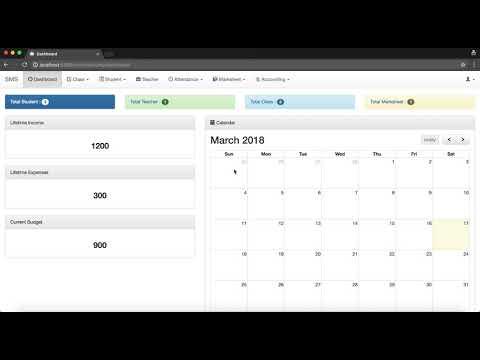 Online School Management System - Part 1 Introduction