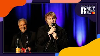 Lewis Capaldi wins Song of the Year | The BRIT Awards 2020