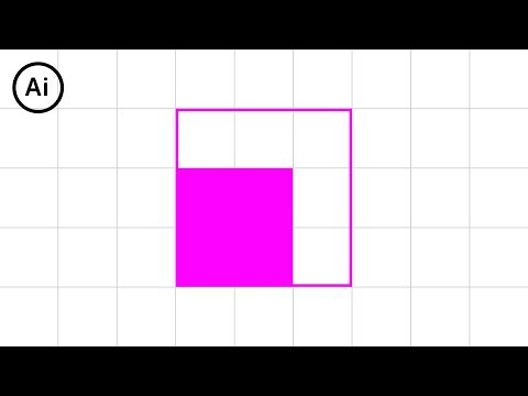 How to Snap to Grid | Illustrator Tutorial