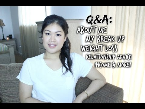 Q&A: About Me, My Break Up, Weight Loss, Relationship Advice, and more!