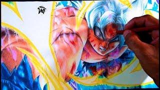 Como Dibujar A Goku Ultra Instinto Perfecto Ultra Instinct Mastered