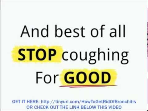 How To Get Rid Of Bronchitis Naturally | Home Remedies To Cure Bronchitis Fast Naturally!