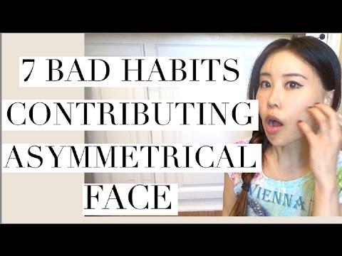 7 Bad Habits Contributing Asymmetrical Face   How to Fix Facial Asymmetry