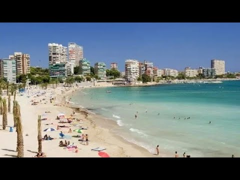 Albufereta Beach Alicante , Spain
