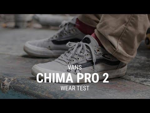 Vans Chima Pro 2 Skate Shoes Wear Test Review - Tactics.com