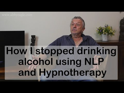 NLP: How I stopped drinking alcohol using NLP and Hypnotherapy - Testimonial for Abby Eagle