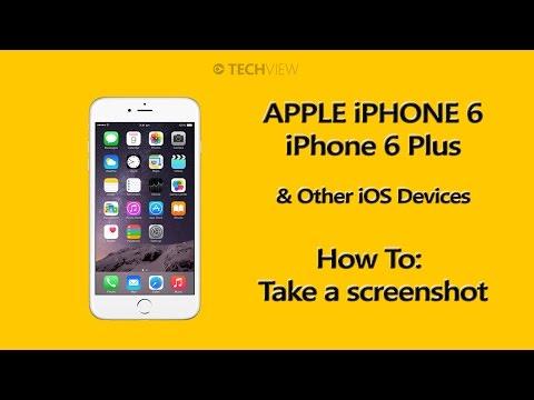 iPhone 6 / Plus / iOS - How to take a screenshot