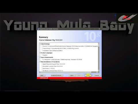 How to download oracle 10g in any windows