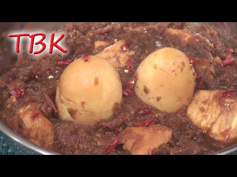 Chicken and Egg Curry Recipe - Titli's Busy Kitchen