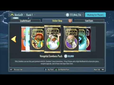 Plants Vs. Zombies: Garden Warfare PS3 - Coins Modding (1.02 Update)