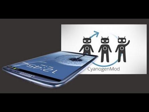Install Jelly Bean 4.1.2 Galaxy S3 CM10.