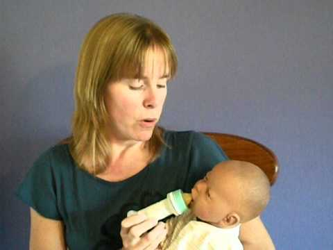Paced Bottle Feeding For The Breastfed Baby