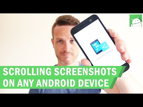 Capture a scrolling screenshot on any Android device