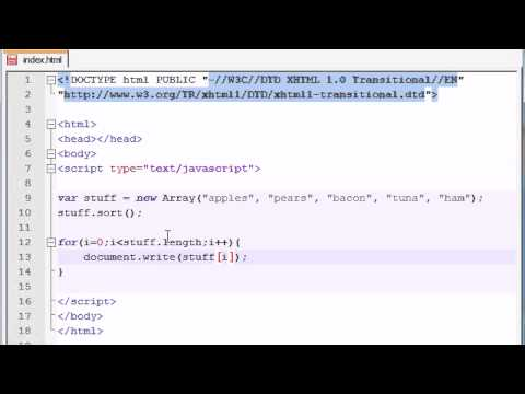 Beginner JavaScript Tutorial - 34 - Cool Technique to Print Array Elements