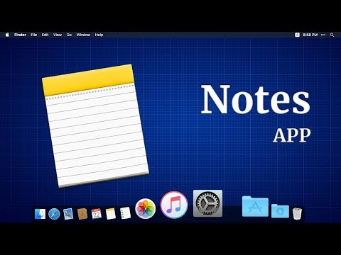 How to use MacBook app for notes (with Subtitles)