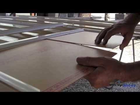 Cheap Sheds Sliding Window Assembly