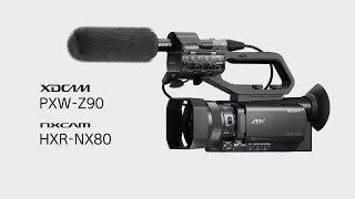 Sony | PXW-Z90 & HXR-NX80 | HDR(HLG) Function Video