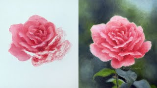 How to Paint a Realistic Rose 🎨 OIL PAINTING TUTORIAL