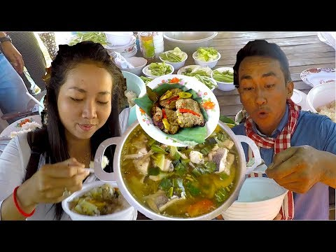 Travel & Life in Cambodia   Breakfast in Kampong Chhnang and Lunch at Pursat Province