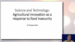 Science and technology agricultural innovation as a response to food insecurity