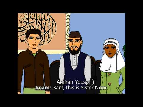 Finding the Girl   A Homemade Islamic cartoon about a young Muslim man's search for a spouse