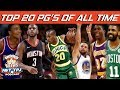 Top 20 NBA PGs Of All Time HoopsNBrews
