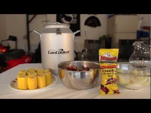 CanCooker Recipe: Sonja's Shrimp and Sausage Dinner
