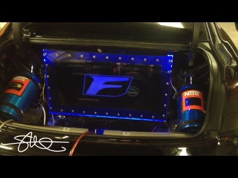 Lexus IS-F Speaker Box - 15