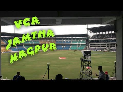 VCA Jamtha cricket stadium Nagpur inside view...one of the most awesome cricket stadium in india