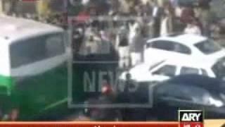 Real Video : Raymond Davis Escaping After Killing 2 Pakistani Citizens