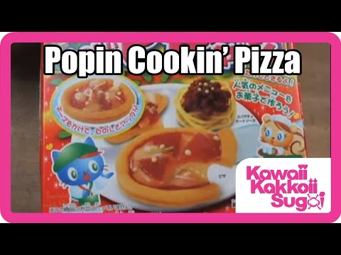 Popin' Cookin' Candy Pizza Instructions