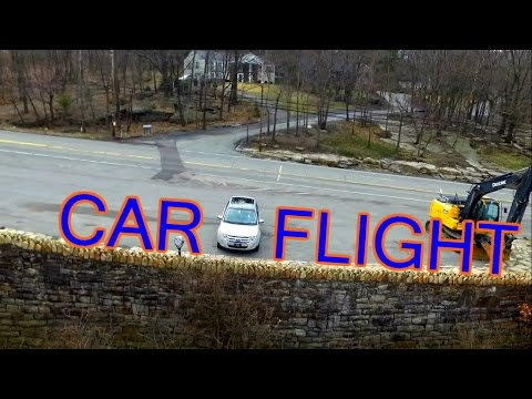 Flying The Drone From My Car - Scranton Footage