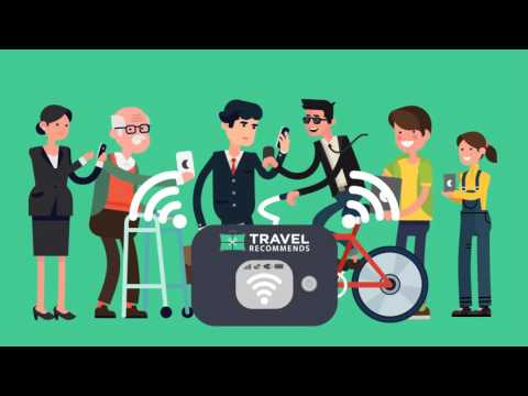 Travel Recommends Pocket Wi-Fi - UNLIMITED DATA