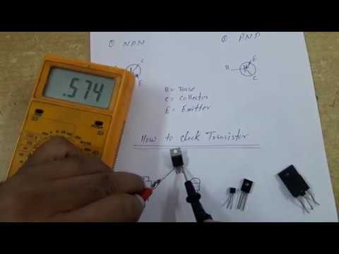 How to check transistor - Hindi